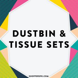 Dustbin & Tissue Sets