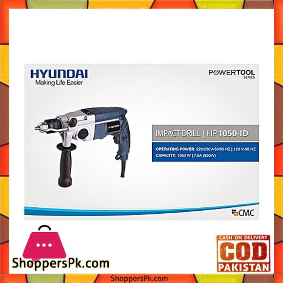 HYUNDAI Impact Drill - HP1050ID - With Warranty