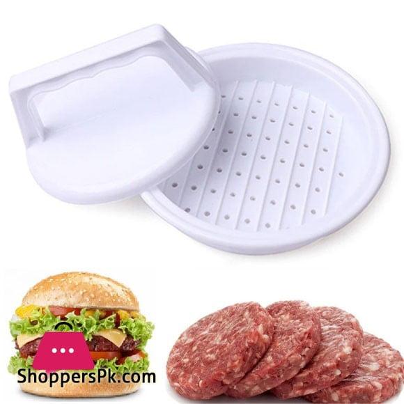 Hamburger Maker / Press - White