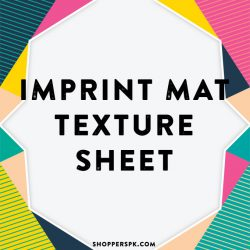 Imprint Mat Texture Sheet