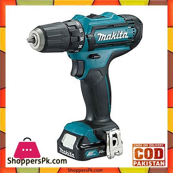 MAKITA DF331DWAE - Makita Drill Driver - Black & Blue