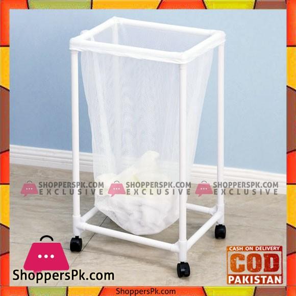 Plastic Lundry Basket with Wheels YLT-0405E
