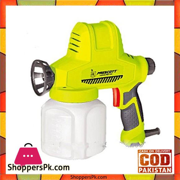 Prescott Electric Spray Gun - Green