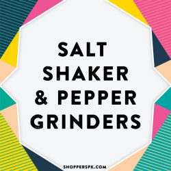 Salt Shaker & Pepper Grinders