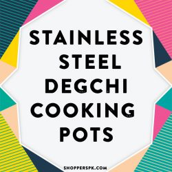 Stainless Steel Degchi Cooking Pots