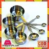 Stainless Steel Measuring Cups and Measuring Spoons 8 - Piece Set