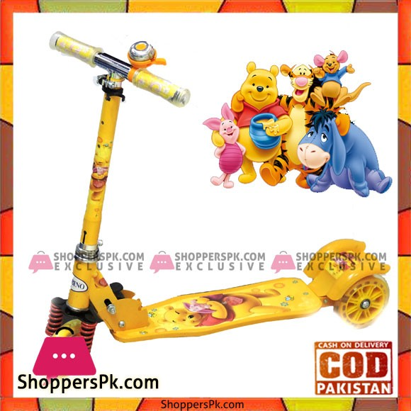 Super Three Wheel Scooty For Kids 3 to 10 Years Kids