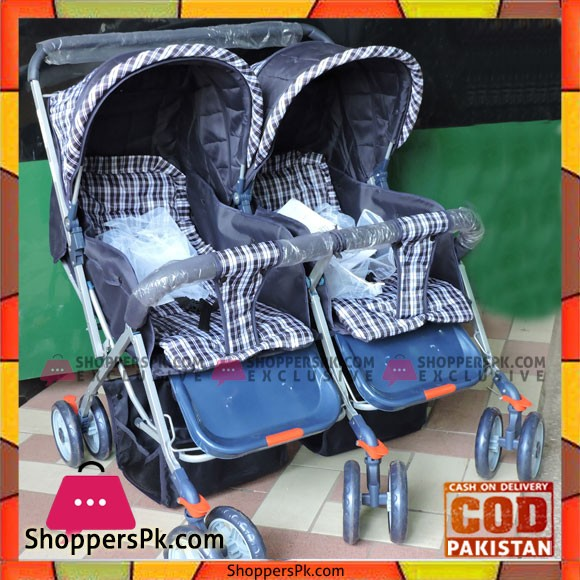 Super Twin Baby Stroller Side by Side HH-888