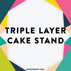 Triple Layer Cake Stand