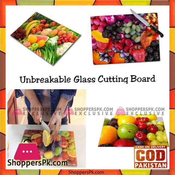 Unbreakable Glass Chopping Board