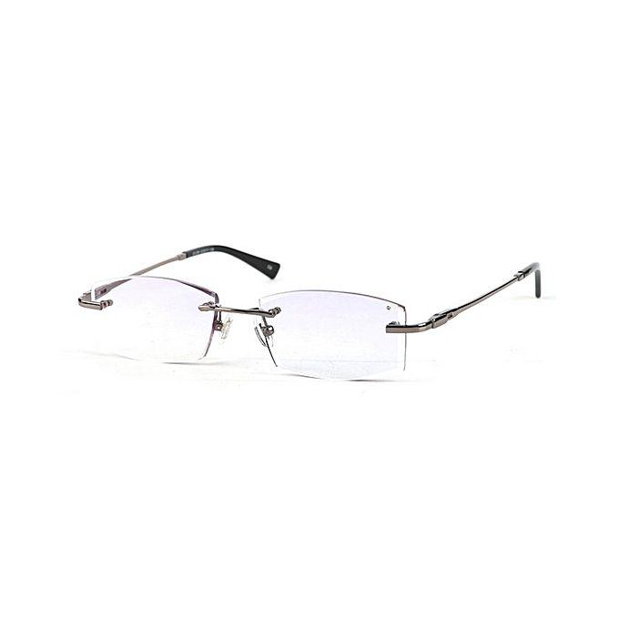 db691b17631 Buy Rimless Optical Frames 122818 Eyewear For Men-Grey at Best Price ...