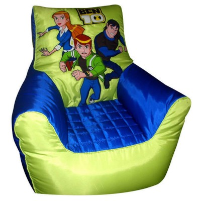 Relaxsit Green Bean Bag Sofa for Kids