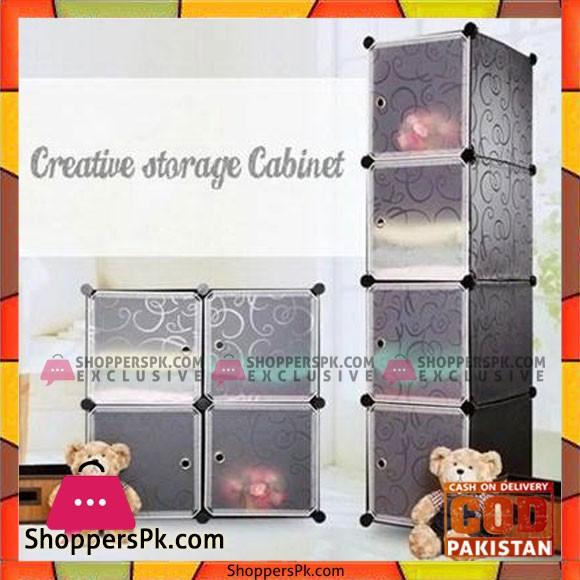 4 Cubes Wardrobes Storage