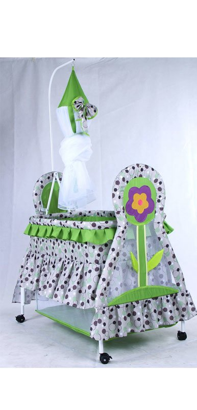 Baby Rocking Cardle with Animal Design KDD 170