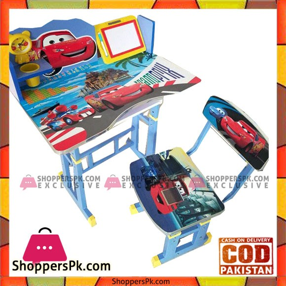 Dissney Cars Kids Table Chair