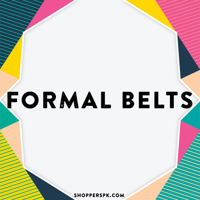 Formal Belts in Pakistan