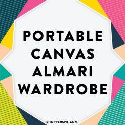 Portable Canvas Almari Wardrobe