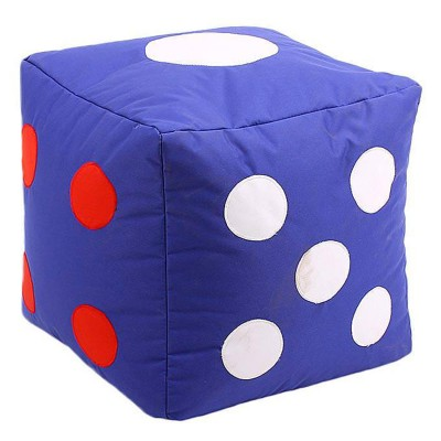 Relaxsit Blue Dice Stool