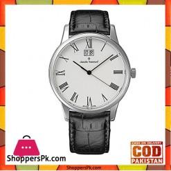 CLAUDE BERNARD Black Leather Classic Watch For Men - 63003-3-BRc
