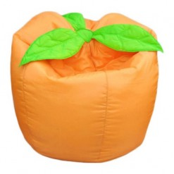 Relaxsit Light Orange Medium Fruity Bean Bag