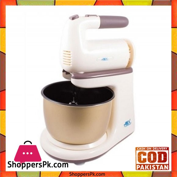 Anex 818 Stand Mixer With Steel Bowl - Karachi Only