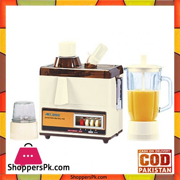 Anex AG-177GL - 600W - Juicer Blender Grinder - Karachi Only