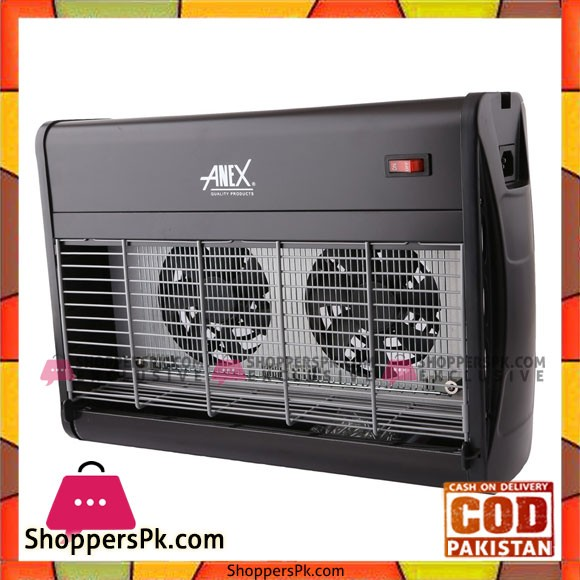Anex (AG-2089) insect killer with double fan