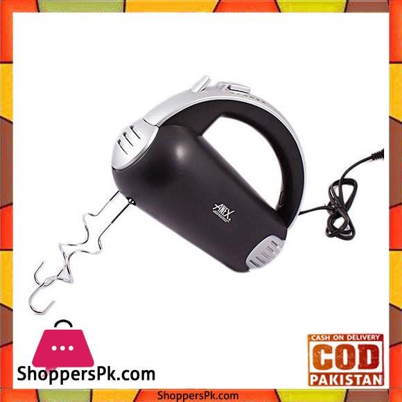 Anex AG-392 - Hand Mixer - Black - Karachi Only