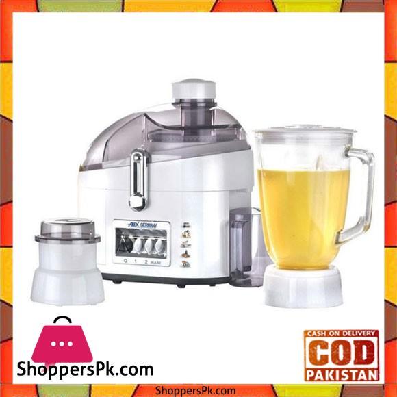 Anex Juicer Blender Grinder 600 W AG-180GL - Karachi Only