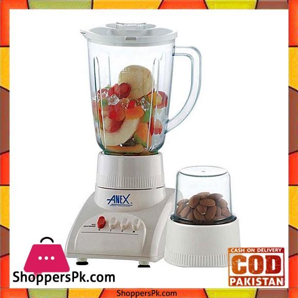 Anex Pack of 2 - Blender - AG-6021 - 350 W - White - Karachi Only