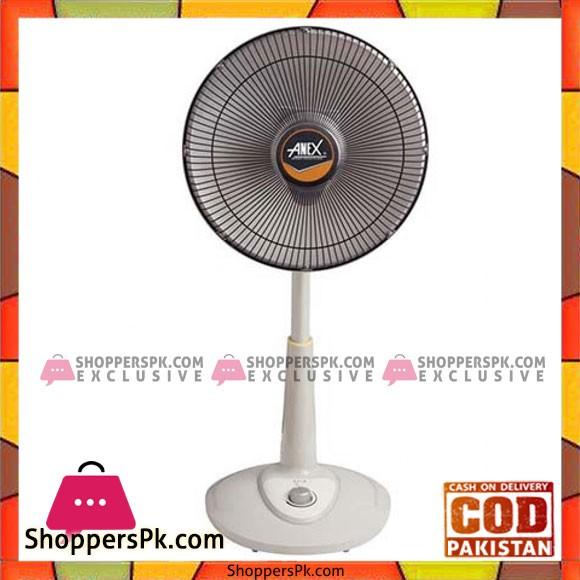 Anex Reflection Fan Heater (AG-3037) - Karachi Only
