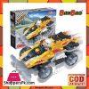 Banbao Remote Control Racing Car Toys Building Block Sets 165-Pcs -8218
