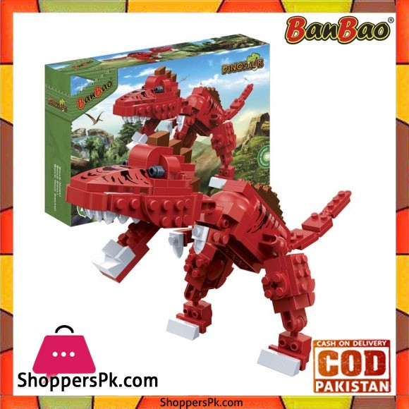 Banbao Spinosaurus Dinosaur Building Brick Toy For kids - 6857