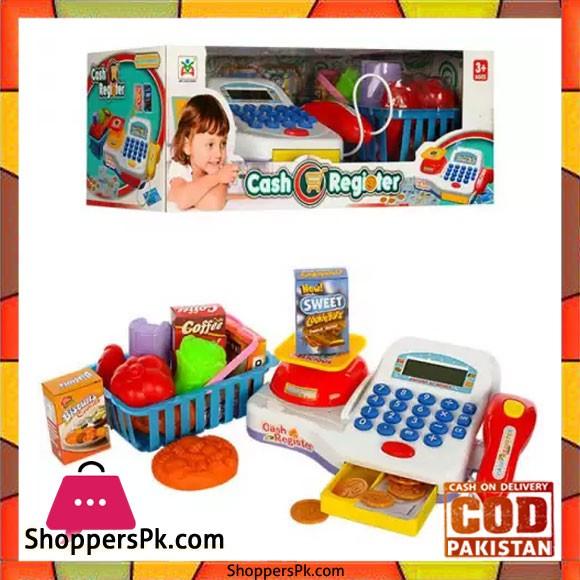 Kids Cash Register Toy Children Educational Cash Register Toy Set