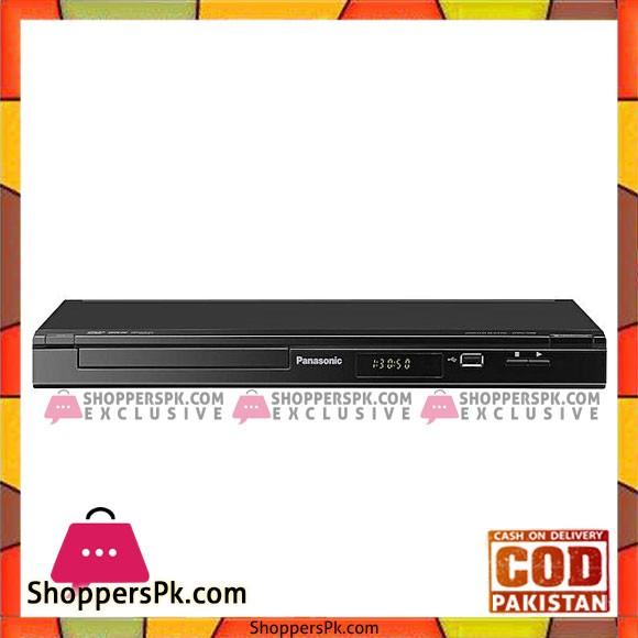 Panasonic DVD-S500GFK - DVD Player - Black