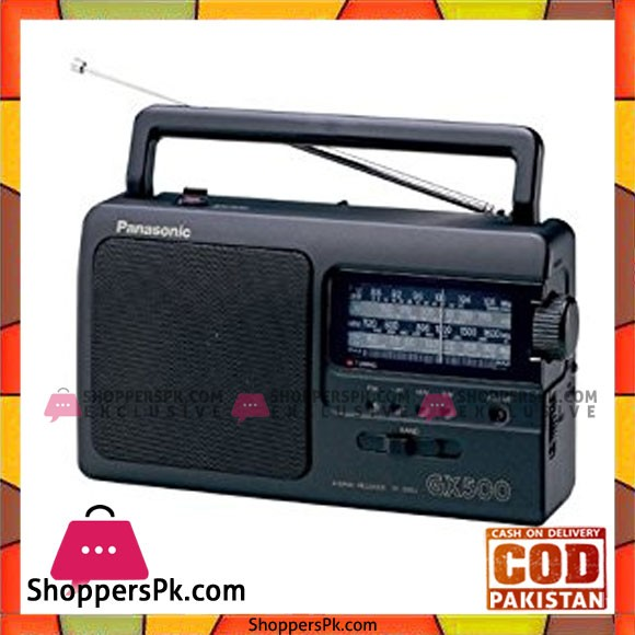 Panasonic Portable Radio RF-3500E9K