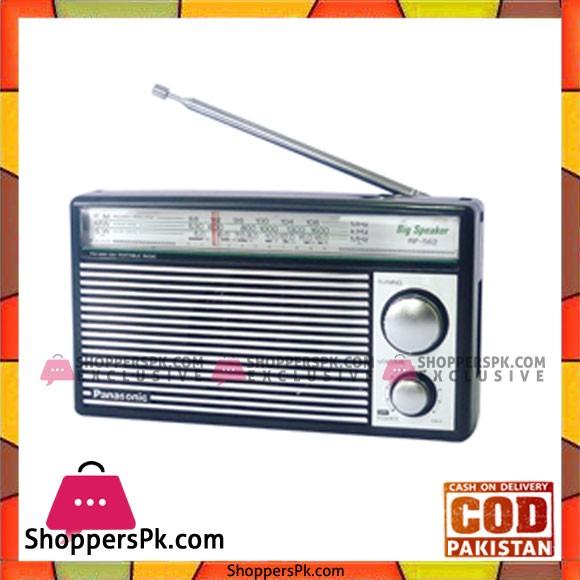 Panasonic Portable Radio RF-562