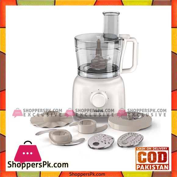 Philips Daily Collection Food Processor Hr7627 00 - Karachi Only