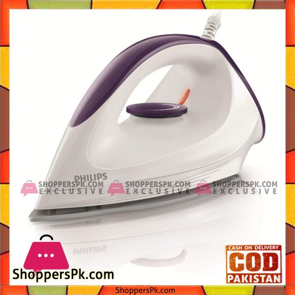 Philips GC160 22 Dry 1200 W Dynaglide Violet White Iron - Karachi Only