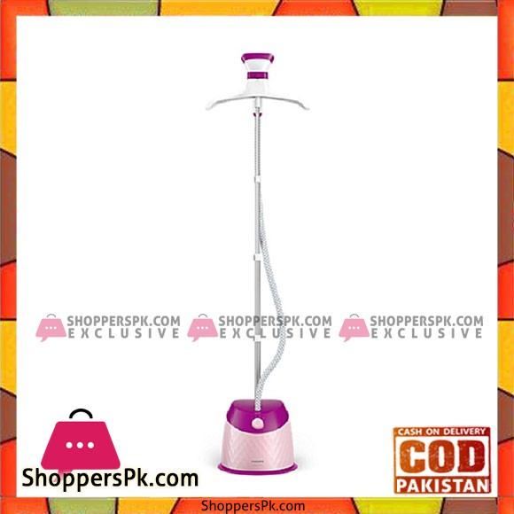 Philips GC514/49 Easy Touch Plus Garment Steamer Purple - Karachi Only