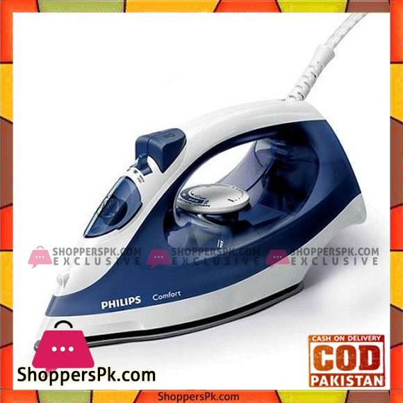 Philips Steam Iron GC1430 20 1700W Blue - Karachi Only
