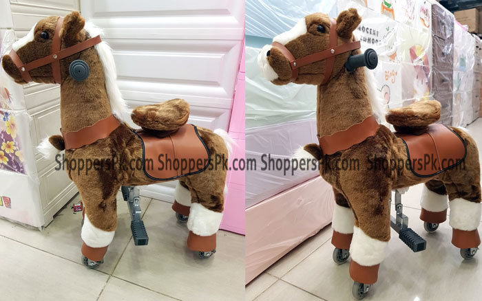 Pony Ride Ride On Rocking Cycle Horse Giddy Up Cowboy - Large Ages 2-5