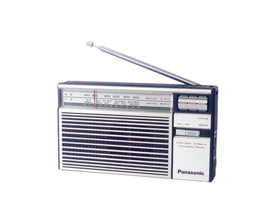 Panasonic R-218D - Portable Radio