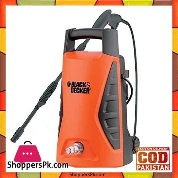 Black & Decker 100 Bar Pressure Washer 1300w PW1370TD