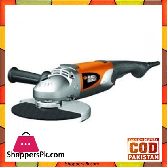 Black & Decker Angle Grinder 9 2300W Semi Soft Start KG2300