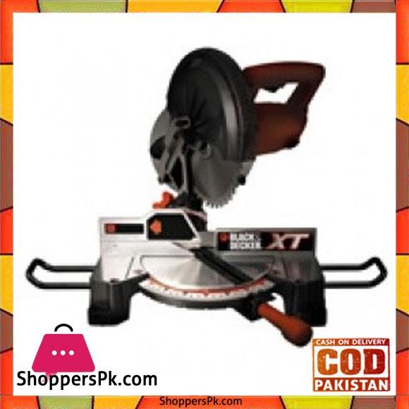 Black & Decker Compound Mitre Saw 250mm XTS100