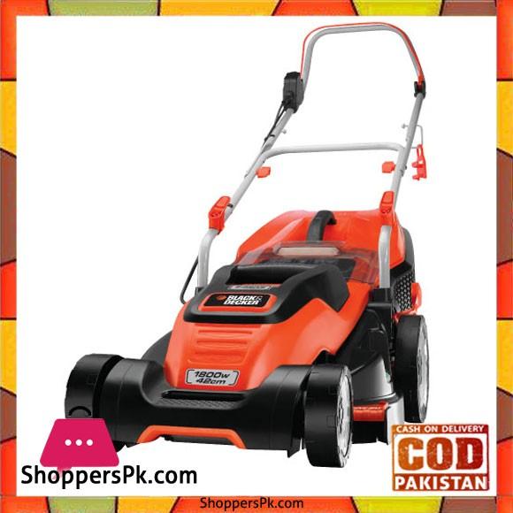 Black & Decker 1800W Edge Max Lawn Mower