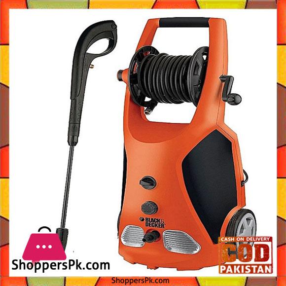 Buy Black Decker High Pressure Washer 2100w 140 Bar Pw2100spb At