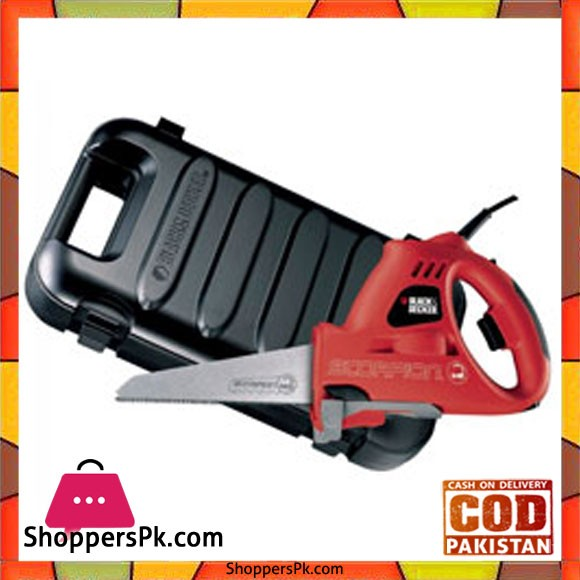 Black & Decker Scorpion Powered Handsaw 400 Watts with Kitbox KS890EK