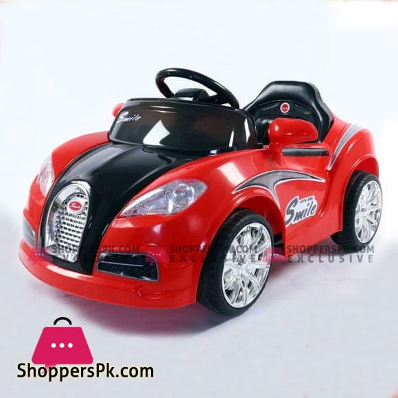Bugatti Kids Ride On Car with Swing